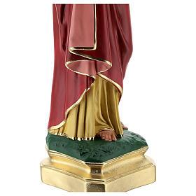 Sacro Cuore Gesù mani al petto 50 cm statua gesso Barsanti s6