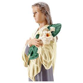Santa María Goretti estatua yeso 30 cm Arte Barsanti s4