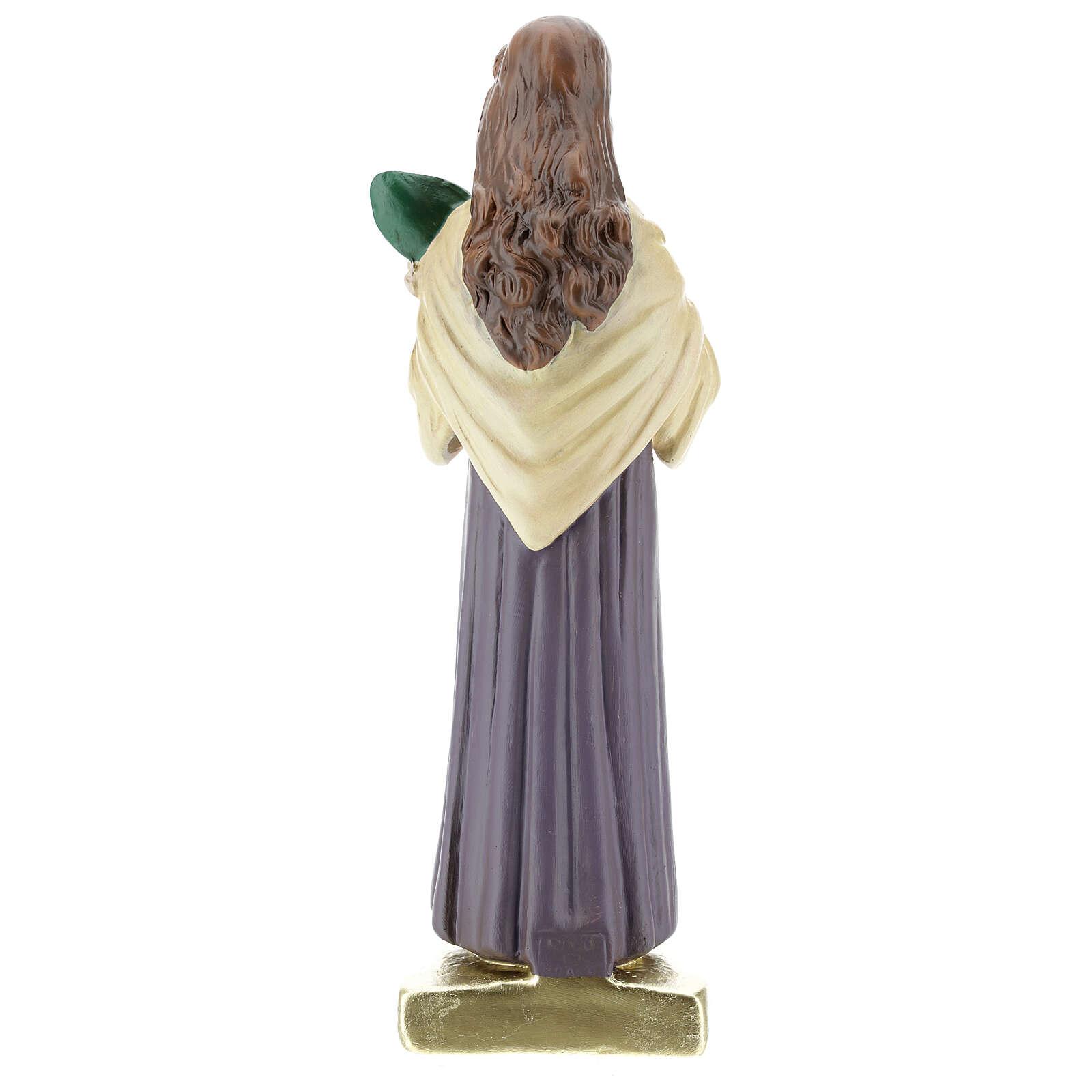 St Maria Goretti statue, 30 cm hand painted plaster Arte Barsanti 4