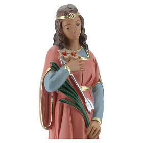 Santa Filomena estatua yeso 20 cm Arte Barsanti s2