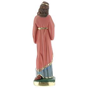 Santa Filomena estatua yeso 20 cm Arte Barsanti s5