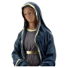 Virgen Dolorosa estatua yeso 30 cm Arte Barsanti s2