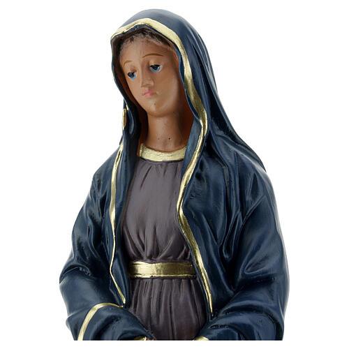 Notre-Dame des Douleurs statue plâtre 30 cm Arte Barsanti 2