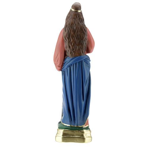 Estatua Santa Bárbara yeso 30 cm Arte Barsanti 4