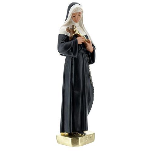 Santa Rita de Casia 30 cm estatua yeso Arte Barsanti 4