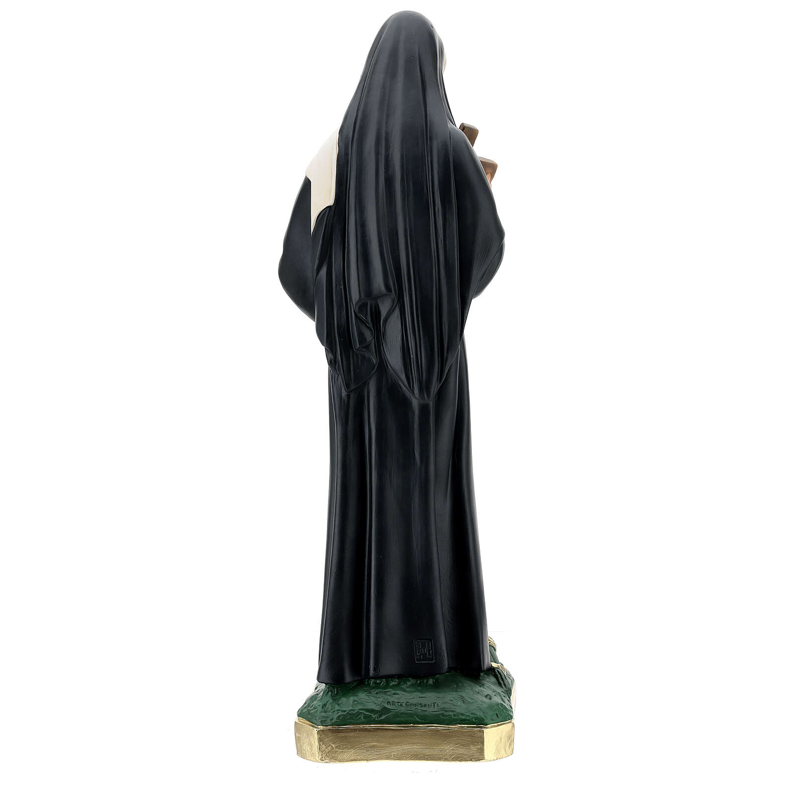 Santa Rita de Casia estatua yeso 60 cm Arte Barsanti 4