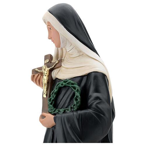 Santa Rita de Casia estatua yeso 60 cm Arte Barsanti 6