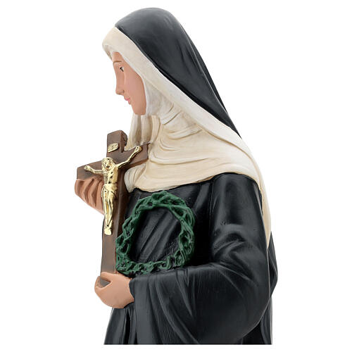 Sainte Rita de Cascia statue plâtre 60 cm Arte Barsanti 6
