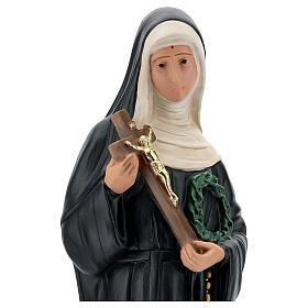 Saint Rita of Cascia plaster statue, 60 cm Arte Barsanti s4