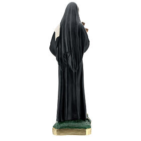 Saint Rita of Cascia plaster statue, 60 cm Arte Barsanti s8