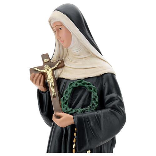 Saint Rita of Cascia plaster statue, 60 cm Arte Barsanti 2
