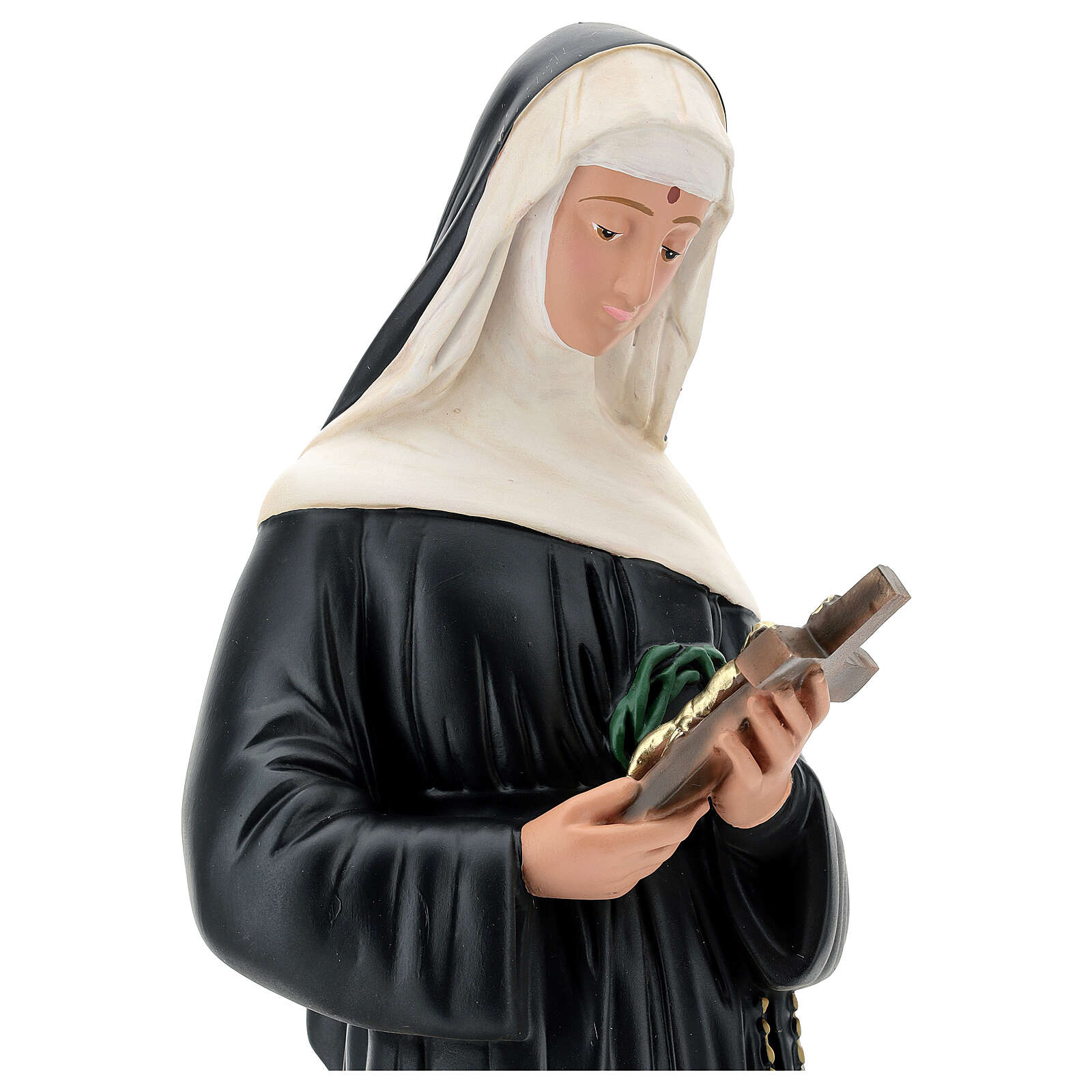 Statue of St. Rita of Cascia 60 cm resin Arte Barsanti 4