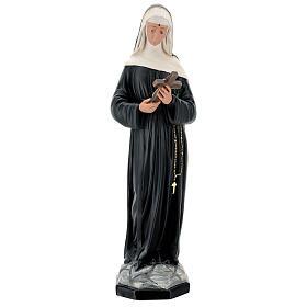 Santa Rita de Casia 60 cm estatua resina pintada Arte Barsanti s1