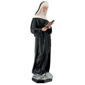 Santa Rita de Casia 60 cm estatua resina pintada Arte Barsanti s5
