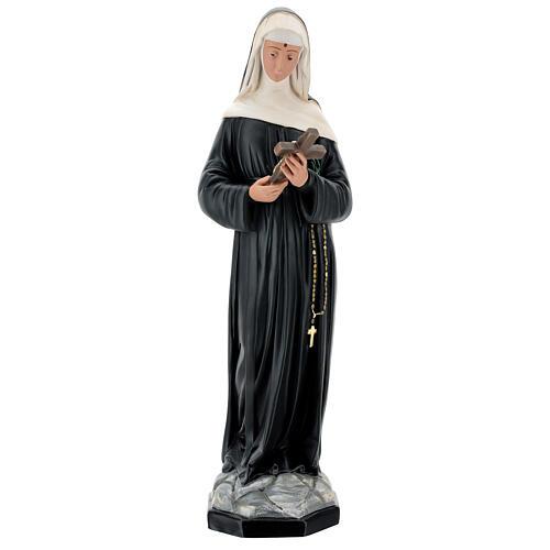 Santa Rita de Casia 60 cm estatua resina pintada Arte Barsanti 1