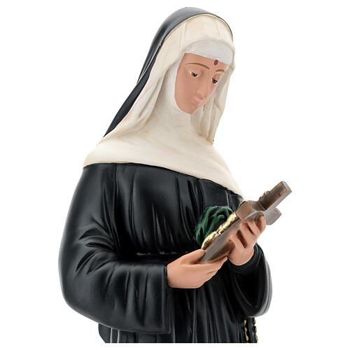 Santa Rita de Casia 60 cm estatua resina pintada Arte Barsanti 2