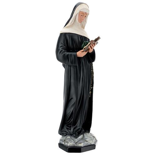 Santa Rita de Casia 60 cm estatua resina pintada Arte Barsanti 5