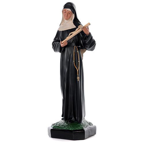 Statue Sainte Rita de Cascia 80 cm résine peinte main Arte Barsanti 3