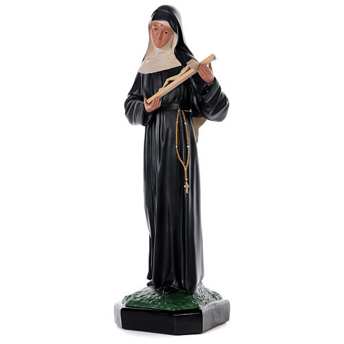 Statua Santa Rita da Cascia 80 cm resina dipinta a mano Arte Barsanti 3