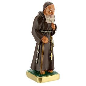 San Leopoldo estatua yeso 15 cm pintada a mano Arte Barsanti s3
