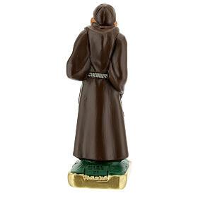 San Leopoldo estatua yeso 15 cm pintada a mano Arte Barsanti s4