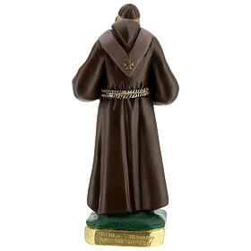 San Leopoldo estatua yeso pintada a mano 30 cm Arte Barsanti s5