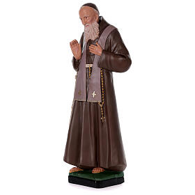 Statua San Leopoldo 80 cm gesso dipinta a mano Arte Barsanti s3