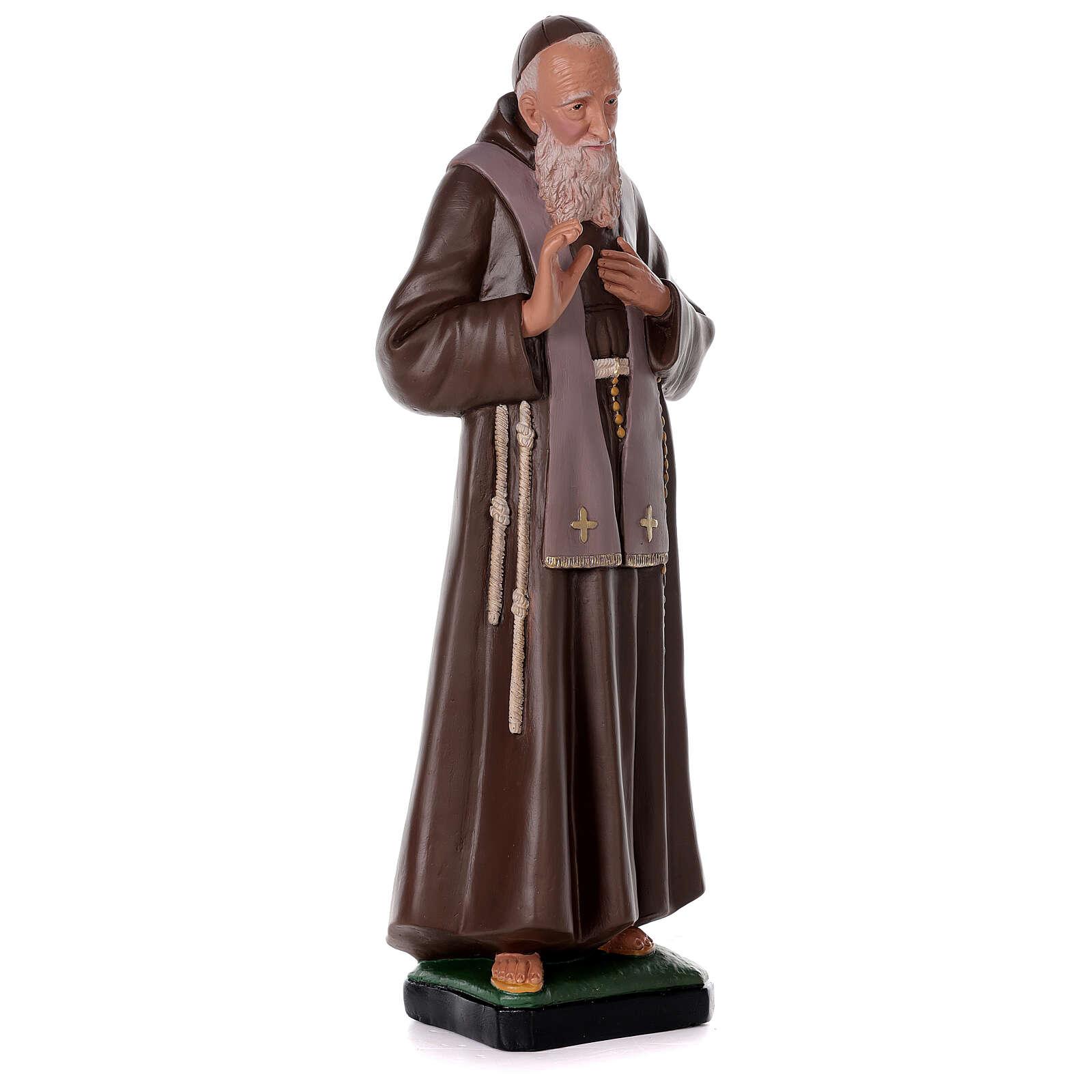 Statue of Saint Leopold 32 in hand-painted plaster Arte Barsanti 4