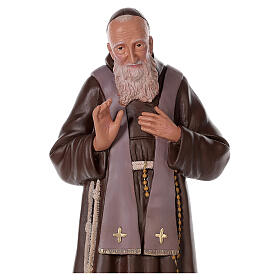 Statue of Saint Leopold 32 in hand-painted plaster Arte Barsanti s2