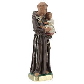 St. Anthony of Padua 15 cm plaster statue Arte Barsanti s3