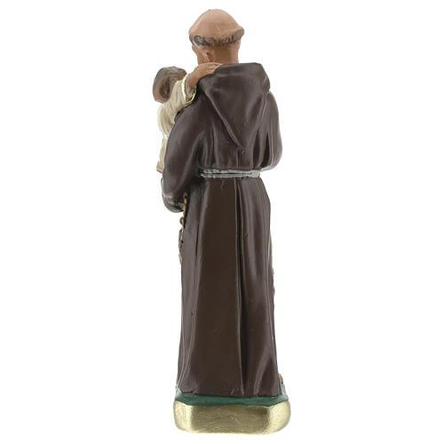 St. Anthony of Padua 15 cm plaster statue Arte Barsanti 4