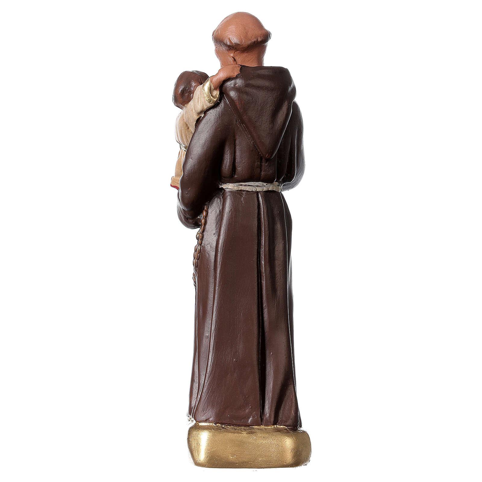 San Antonio de Padua 15 cm estatua yeso Arte Barsanti 4