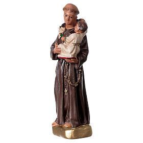 San Antonio de Padua 15 cm estatua yeso Arte Barsanti