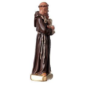 Saint Antoine de Padoue 15 cm statue plâtre Arte Barsanti s3