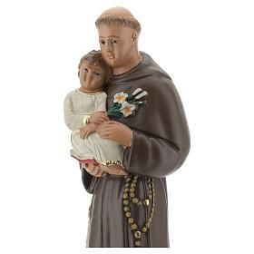 St. Anthony of Padua 20 cm plaster statue Arte Barsanti s2
