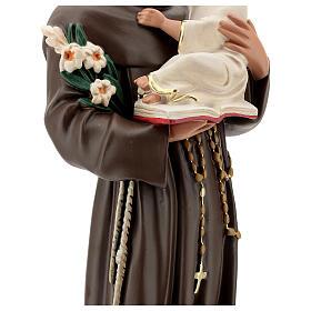 Saint Antoine de Padoue statue résine 65 cm peinte Arte Barsanti s6