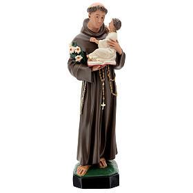 St Anthony statue, 65 cm painted resin Arte Barsanti s1