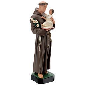St Anthony statue, 65 cm painted resin Arte Barsanti s5