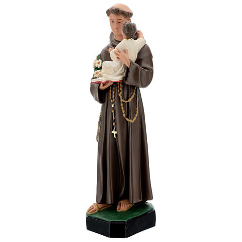St Anthony statue, 65 cm painted resin Arte Barsanti 3