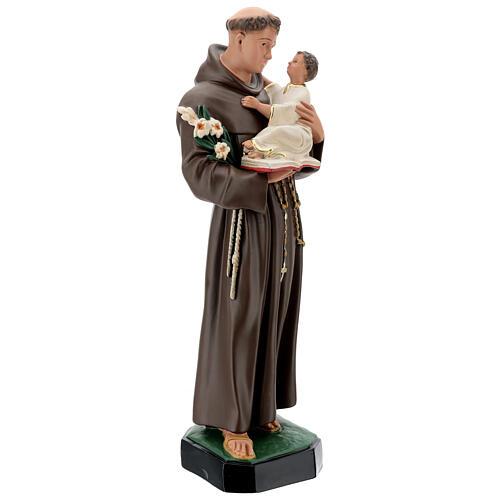 St Anthony statue, 65 cm painted resin Arte Barsanti 5