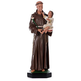 Saint Antoine de Padoue 87 cm statue résine Arte Barsanti s1