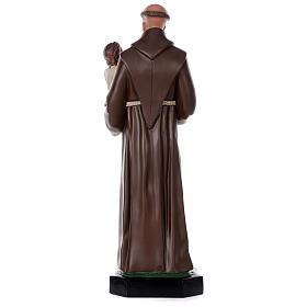 Saint Antoine de Padoue 87 cm statue résine Arte Barsanti s5