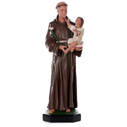 Saint Antoine de Padoue 87 cm statue résine Arte Barsanti 1