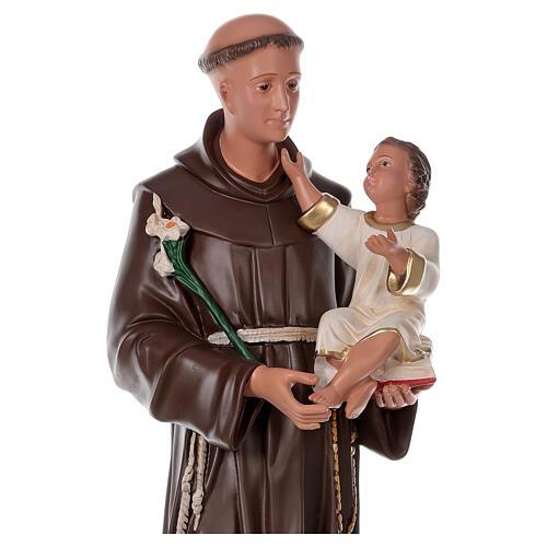 Saint Antoine de Padoue 87 cm statue résine Arte Barsanti 2