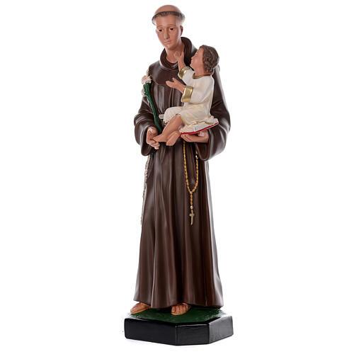 Saint Antoine de Padoue 87 cm statue résine Arte Barsanti 3
