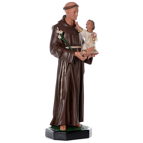 Saint Antoine de Padoue 87 cm statue résine Arte Barsanti 4