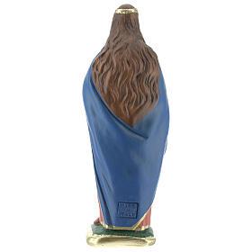 Santa Lucia statua gesso 20 cm Arte Barsanti s4