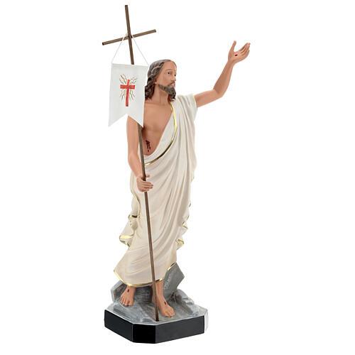 Jésus Ressuscité statue résine 50 cm peinte main Arte Barsanti 4