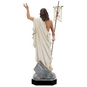 Statue Résine Christ Ressuscité 65 cm peinte main Arte Barsanti s5