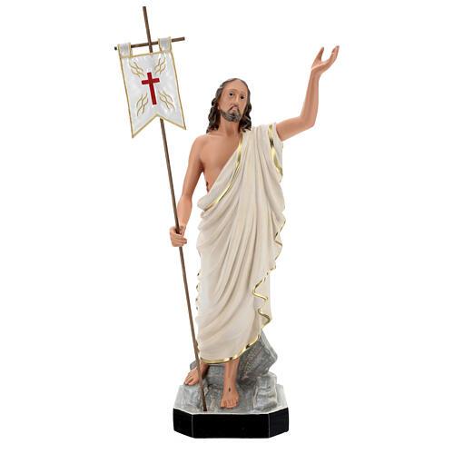 Statue Résine Christ Ressuscité 65 cm peinte main Arte Barsanti 1
